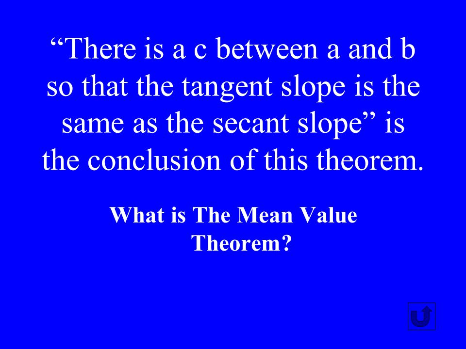 This theorem allows calculations of area using anti-derivatives.