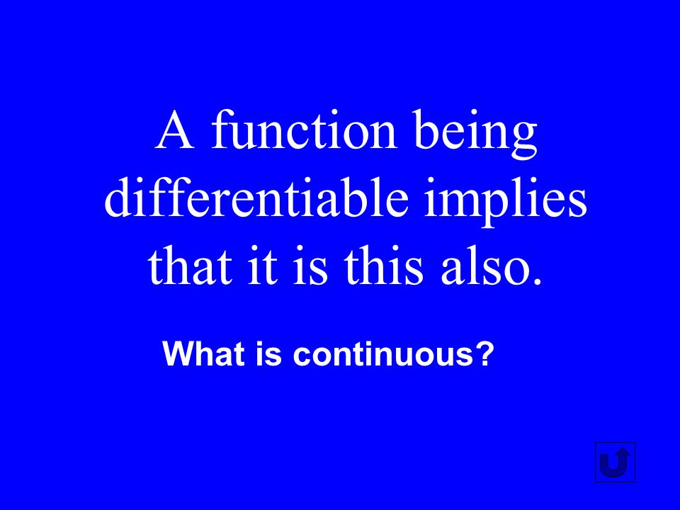 This is measured by the Second Derivative of a function. What is concavity