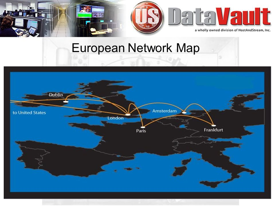 European Network Map