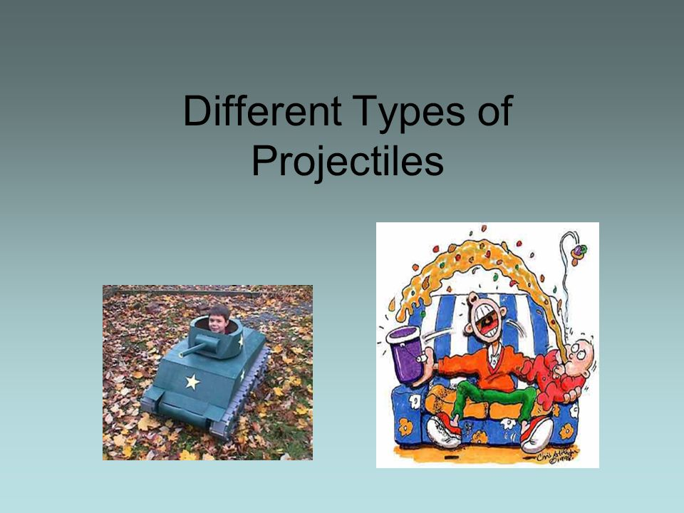 Different Types of Projectiles