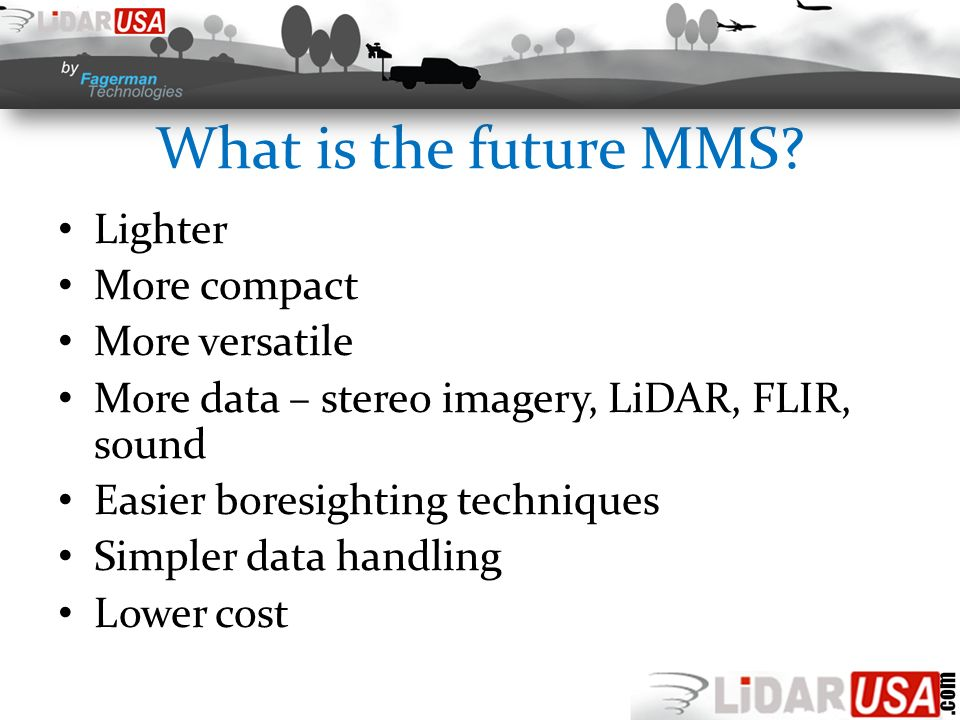 What is the future MMS.