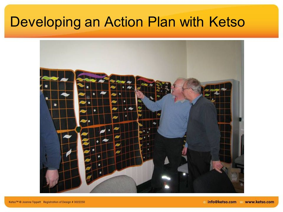 Developing an Action Plan with Ketso
