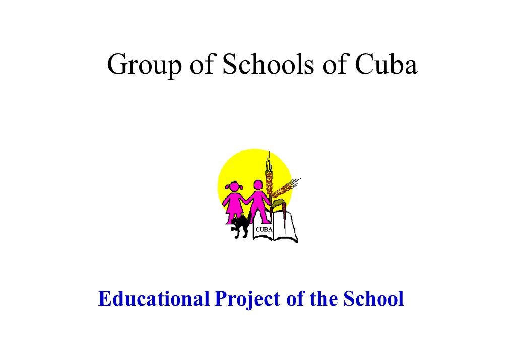 Cuba Cuba: - Aliete Prazeres (1 st Stage) Base School Base School: - António José Fitas Caeiro (2 nd Stage tutor of student); - Cláudia Isabel Balsinha Barradinhas (1 st Stage) Faro do Alentejo Faro do Alentejo: -Maria Leonor dos Reis Ventura (1 st Stage).