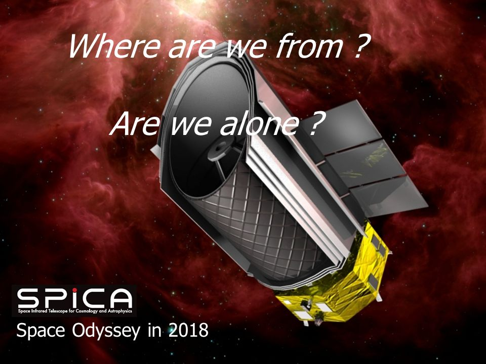 Space Odyssey in 2018 Where are we from Are we alone