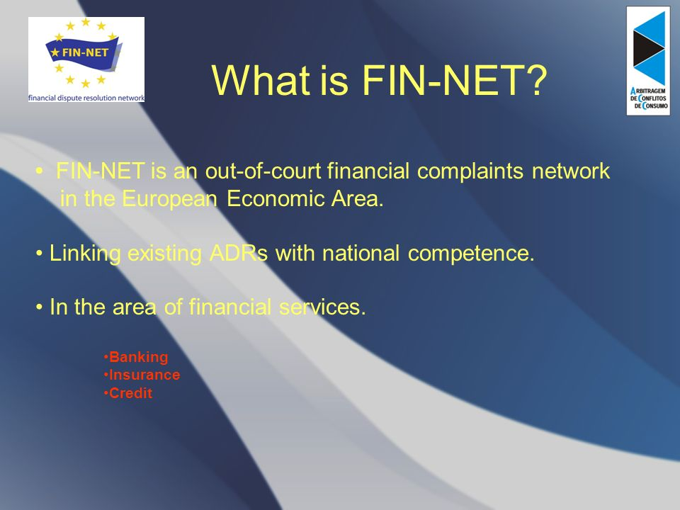 What is FIN-NET.