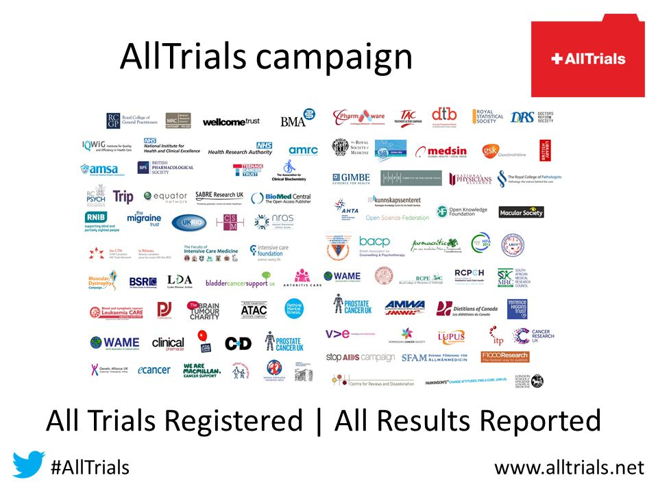 AllTrials campaign All Trials Registered | All Results Reported #AllTrials