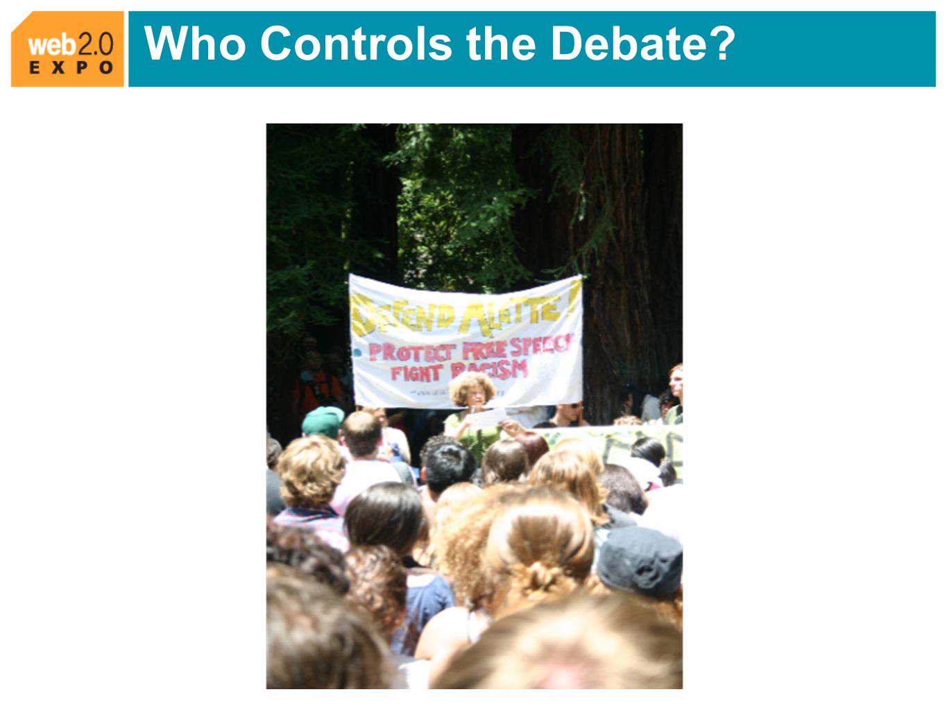 Who Controls the Debate