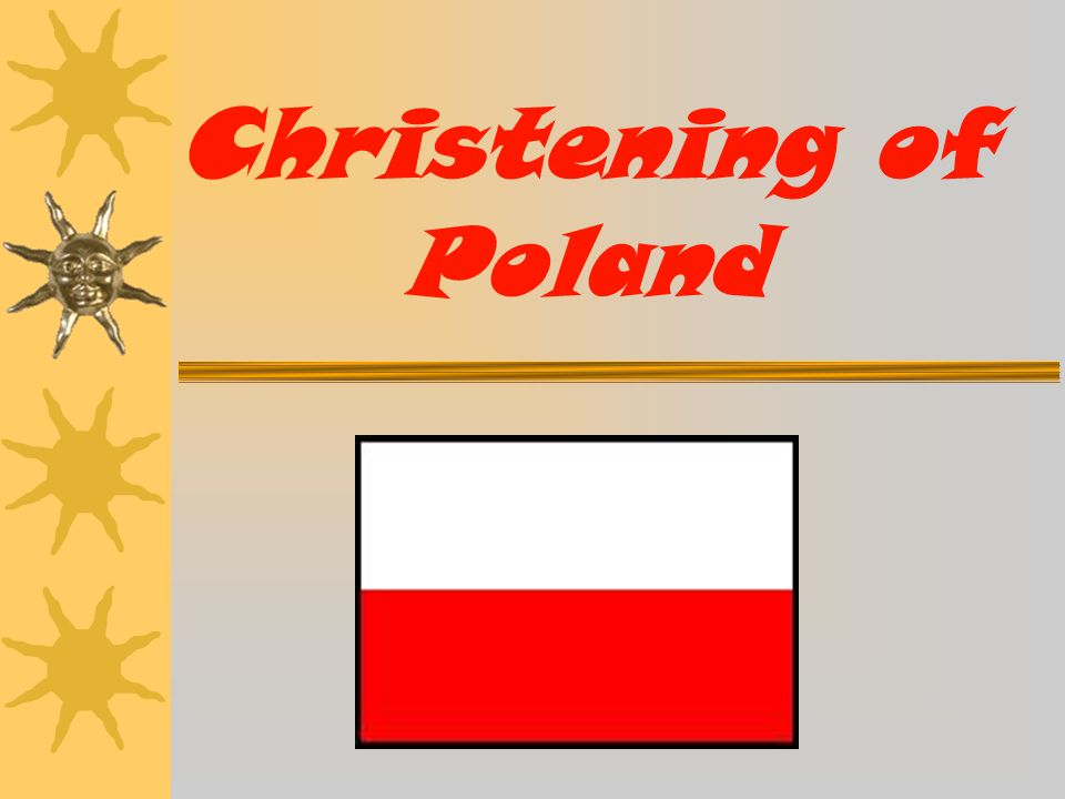 Christening of Poland