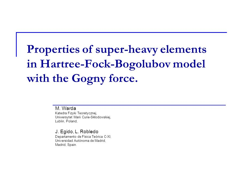 Properties of super-heavy elements in Hartree-Fock-Bogolubov model with the Gogny force.