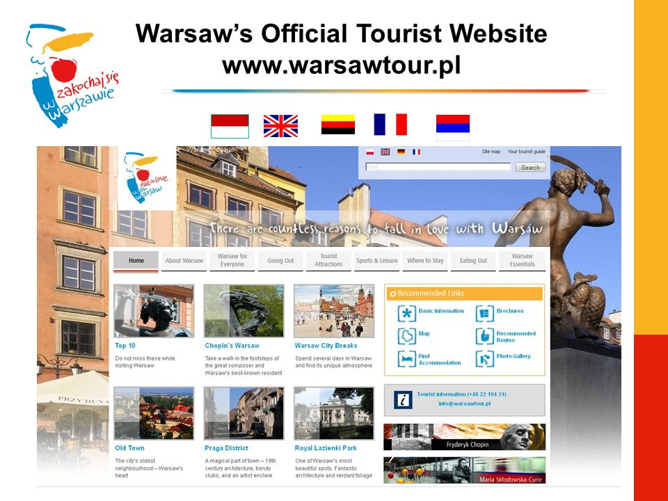 Warsaws Official Tourist Website