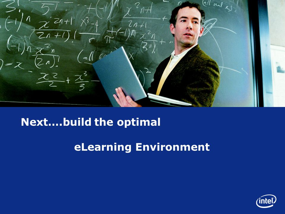 Next….build the optimal eLearning Environment