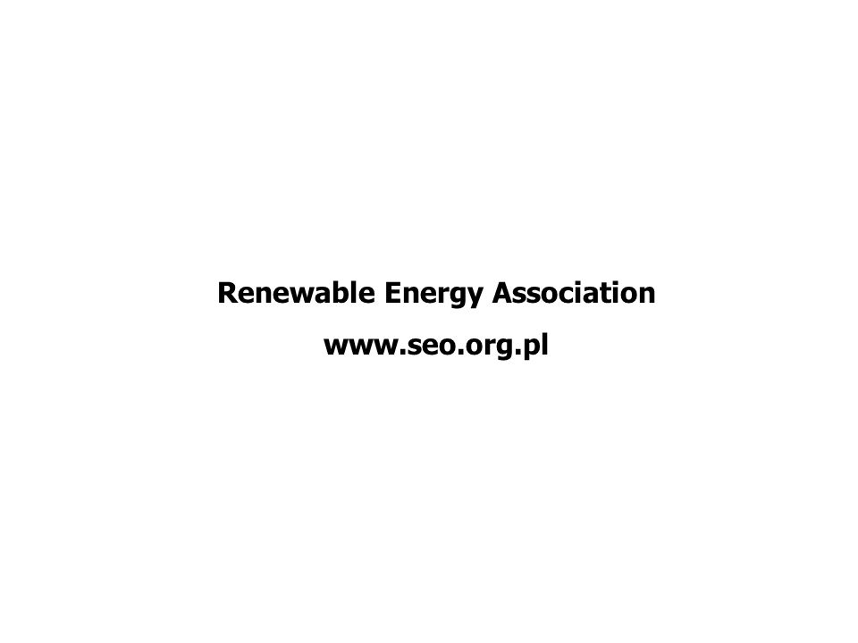 Renewable Energy Association www.seo.org.pl