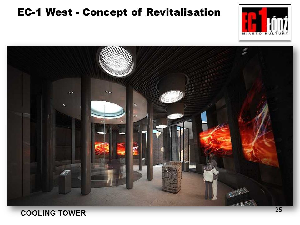 EC-1 West - Concept of Revitalisation 25 COOLING TOWER