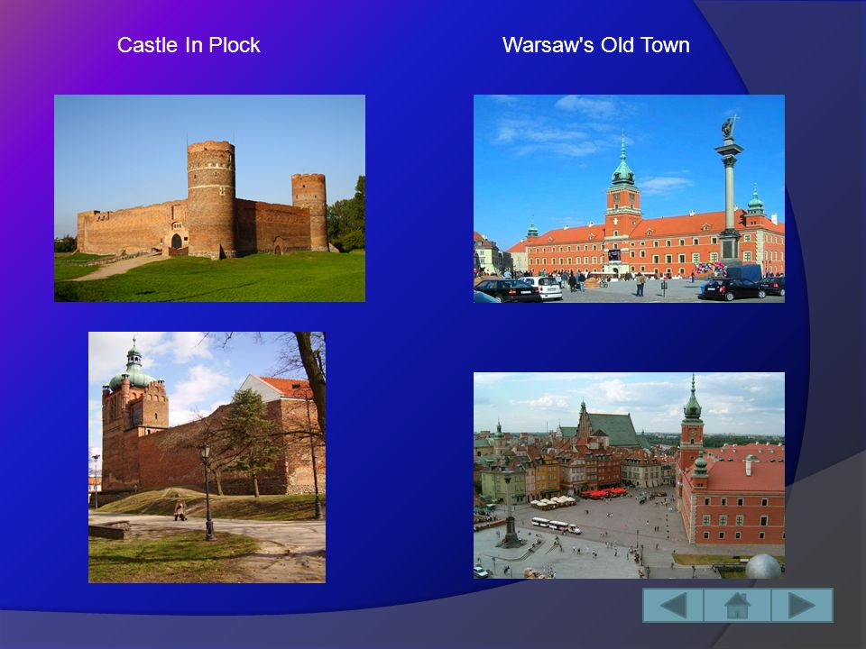 Historical Monuments: -Castle In Plock -Warsaw s Old Town Capital City : Warszawa Area:35 558,18 km² Masovian Voivodeship is located in the middle – east Poland and it borders on the other voivodeships like: -Podlaskie -Swietokrzyskie -Lublin -Lodz -Warmian – Masurian -Kuyavian – Pomeranian