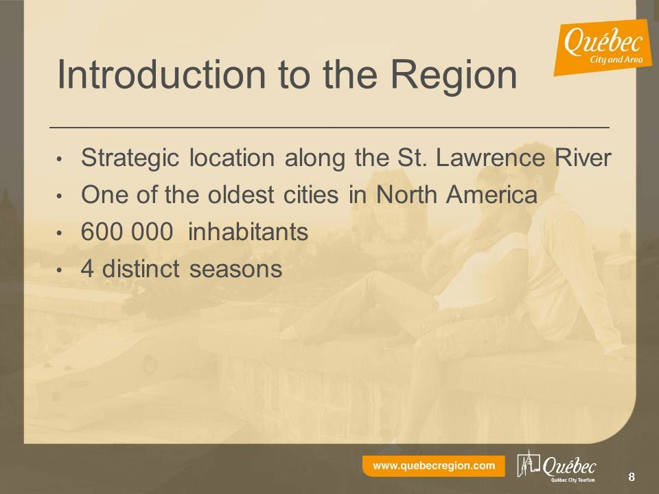 888 Introduction to the Region Strategic location along the St.