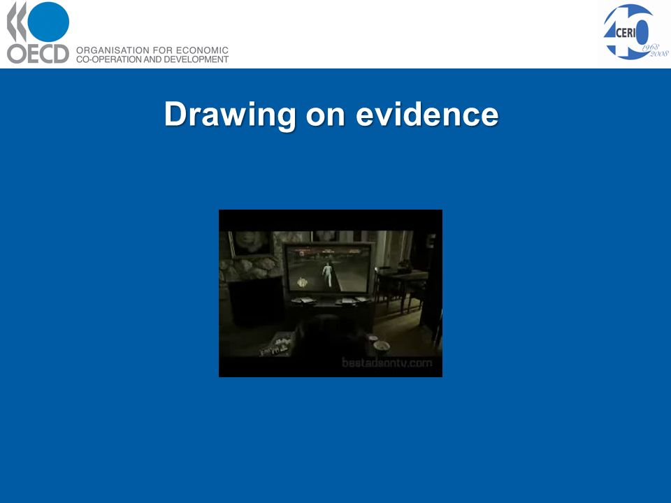 Drawing on evidence