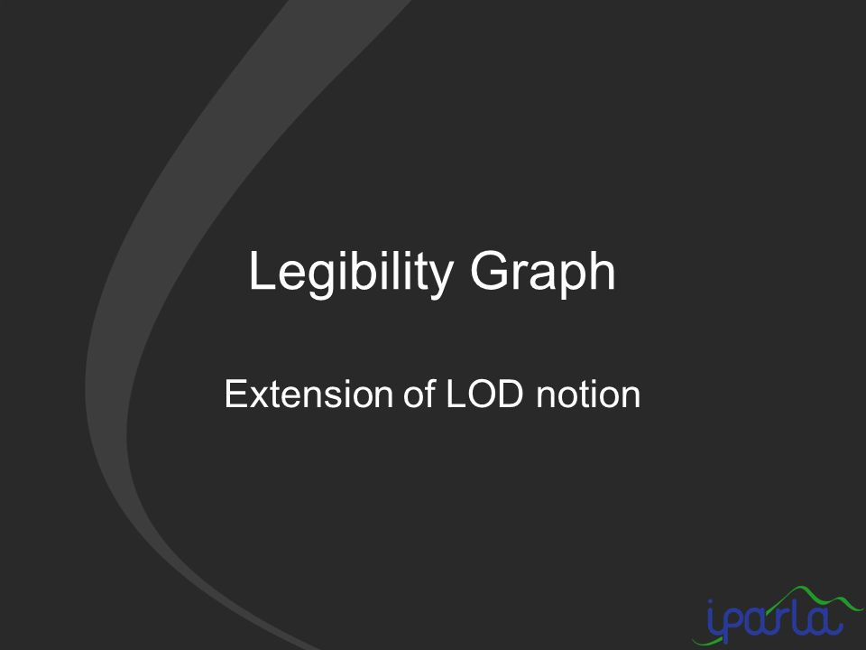 Legibility Graph Extension of LOD notion