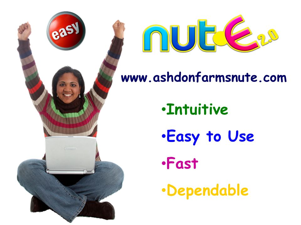 Intuitive Easy to Use Fast Dependable