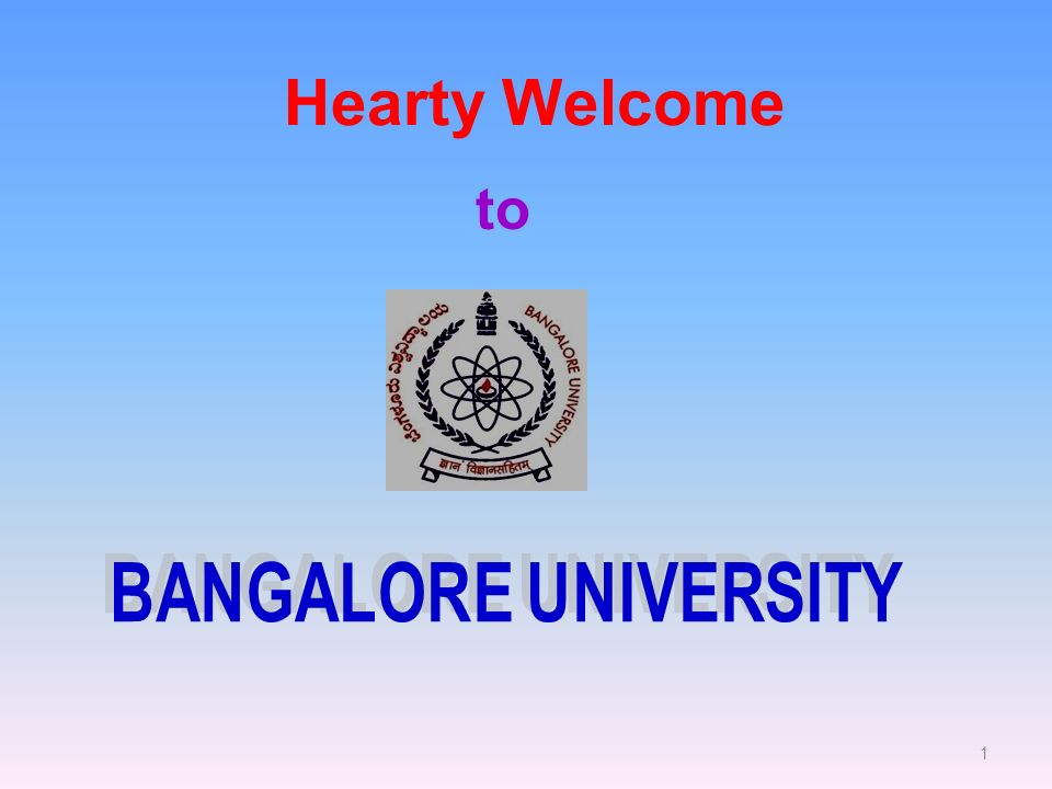 1 Hearty Welcome to