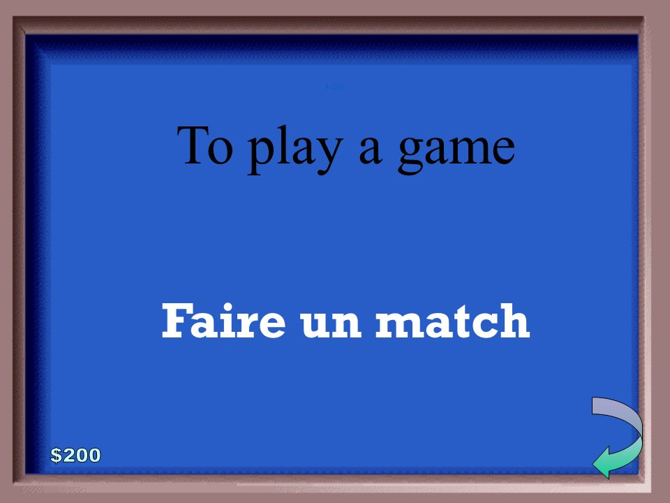 To do/make faire