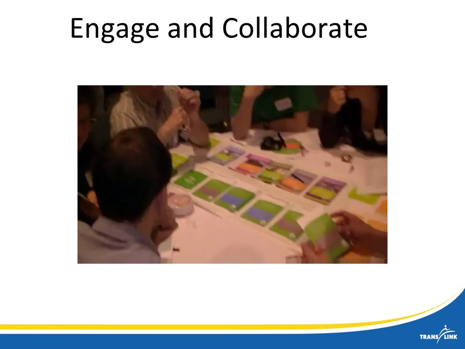 Engage and Collaborate
