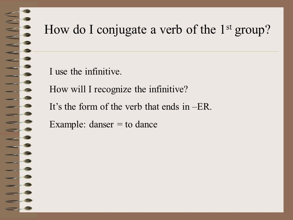 Subject-Verb Agreement Using the correct form of the conjugated verb