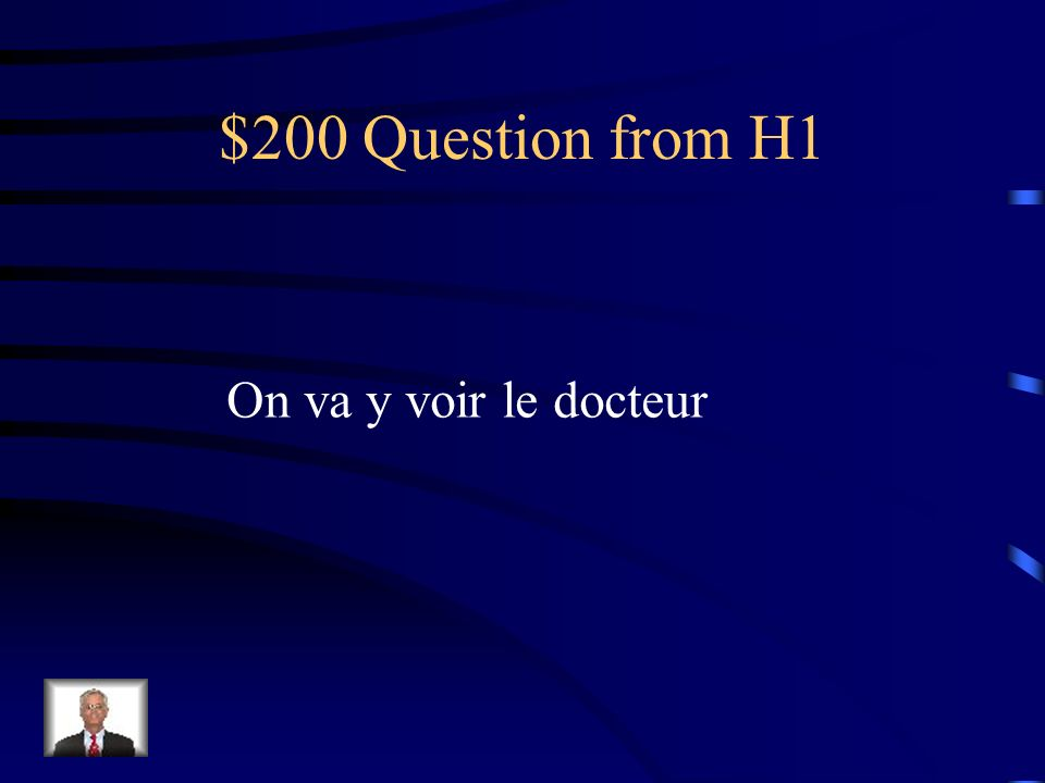 $100 Answer from H1 Lécole