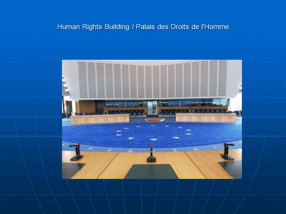 Human Rights Building / Palais des Droits de l Homme