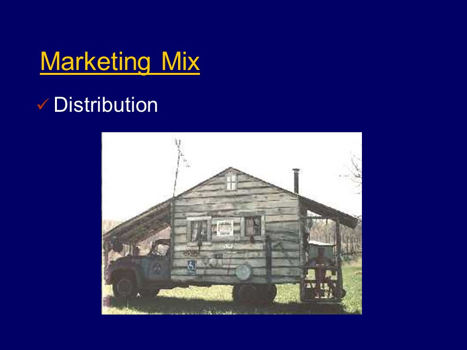 Marketing Mix Distribution
