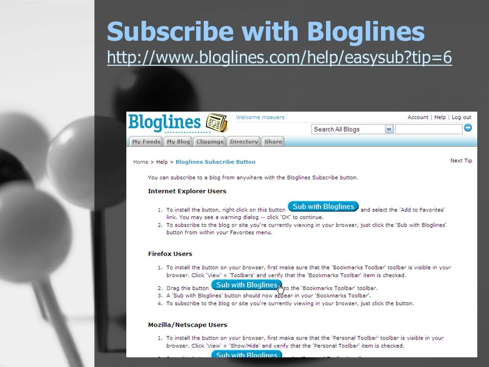 Subscribe with Bloglines   tip=6   tip=6
