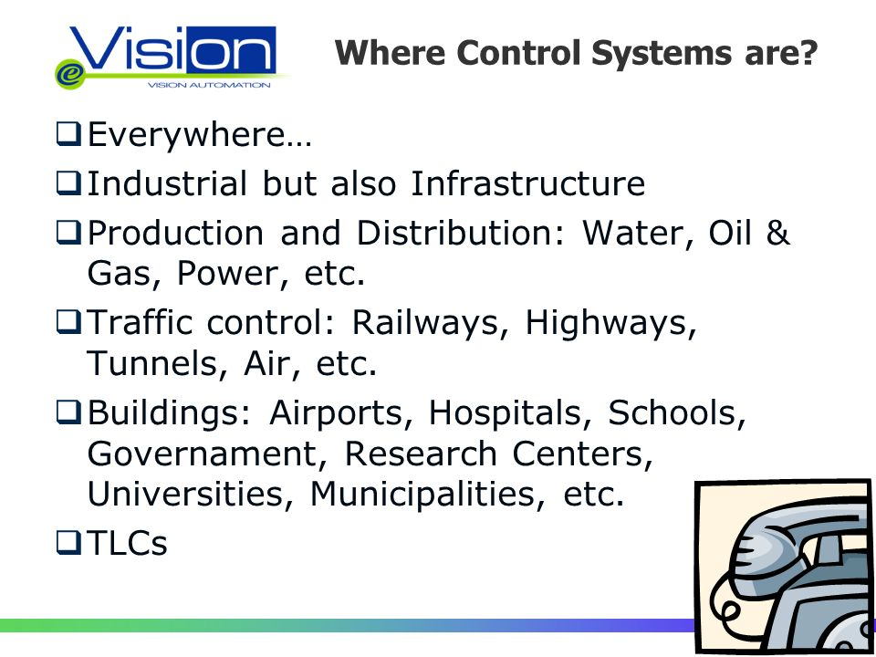 Where Control Systems are.