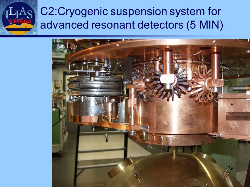 STREGA C2:Cryogenic suspension system for advanced resonant detectors (5 MIN)