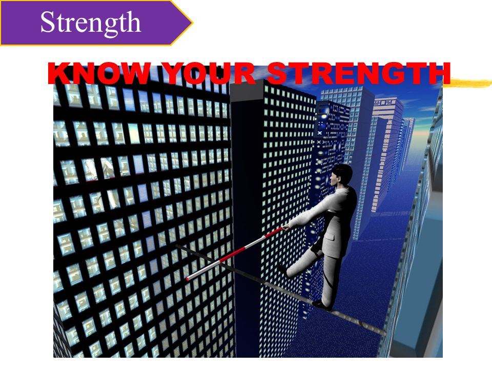 KNOW YOUR STRENGTH Strength