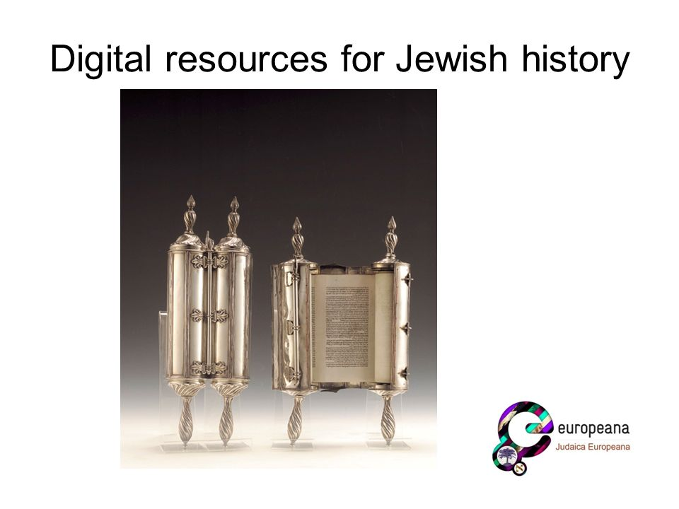 Digital resources for Jewish history