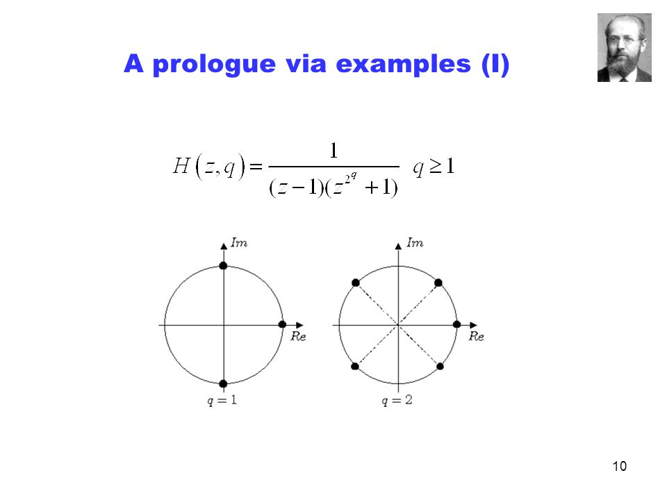 10 A prologue via examples (I)
