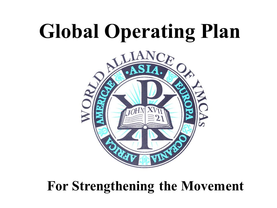 Global Operating Plan For Strengthening the Movement