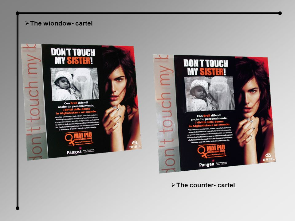 The wiondow- cartel The counter- cartel