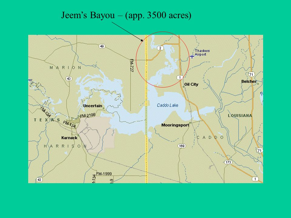 Jeems Bayou – (app acres)