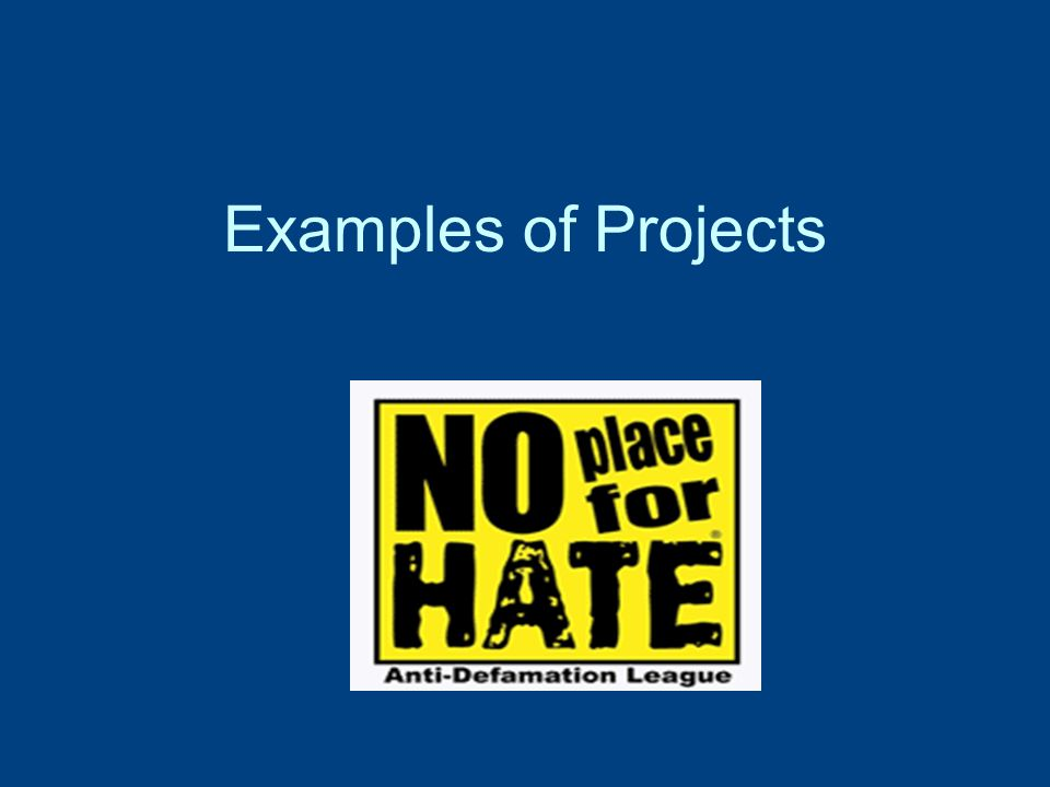 Form a No Place for Hate Team to Oversee Anti-Bias and Diversity Education Activities STEP TWO Consider including all parts of your community: n Teachers/Administrators/Staff n Parents n Students n Community Members