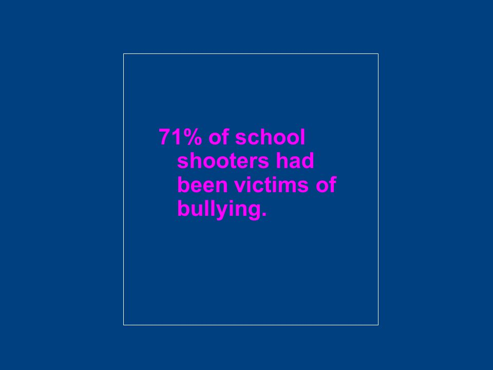 Bullying is violence Violence is any mean word, look, sign, or act that hurts a persons body, feelings, or things.