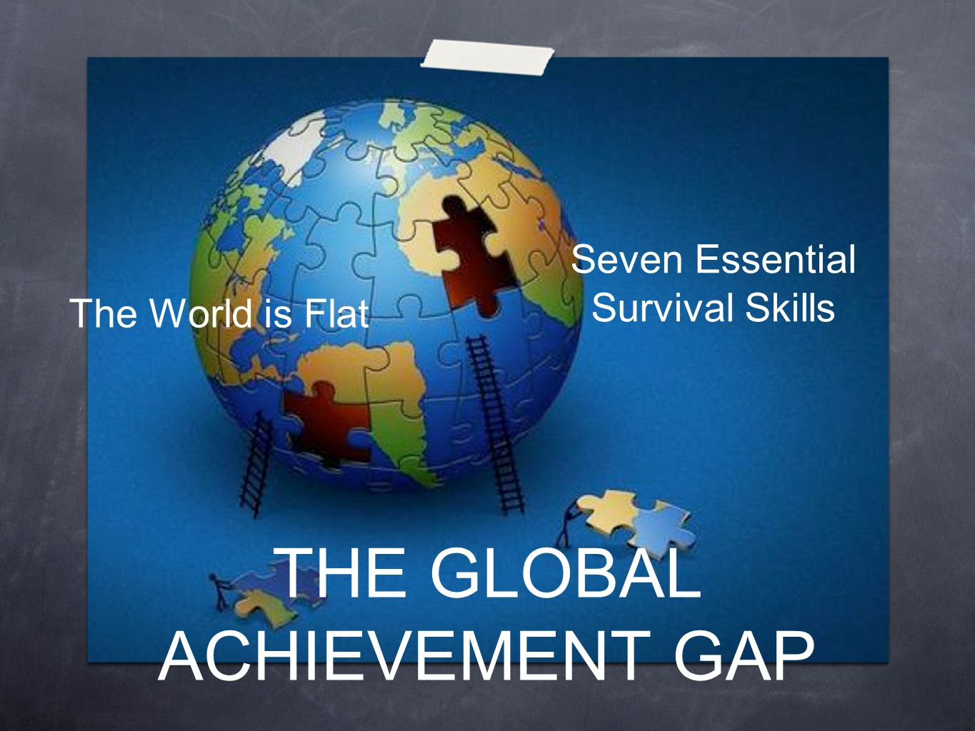 THE GLOBAL ACHIEVEMENT GAP Seven Essential Survival Skills The World is Flat