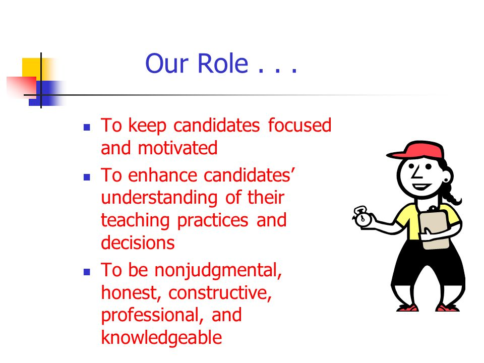 Our Role...