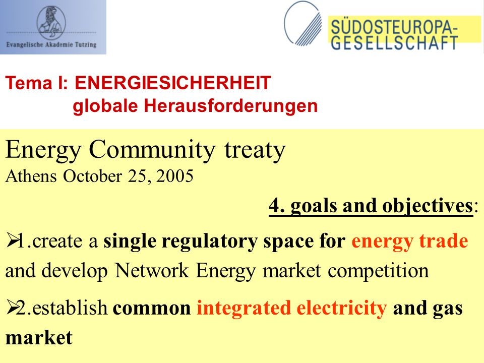 Energy Community treaty Athens October 25,