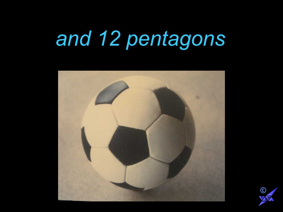 and 12 pentagons ©