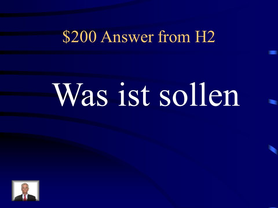 $200 Question from H2 should