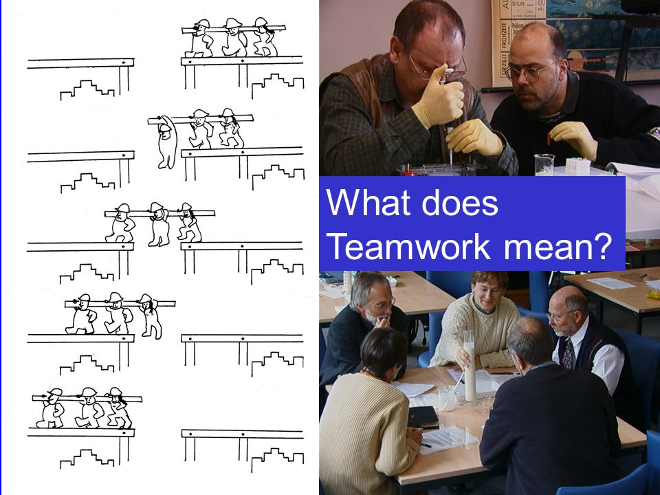 What does Teamwork mean