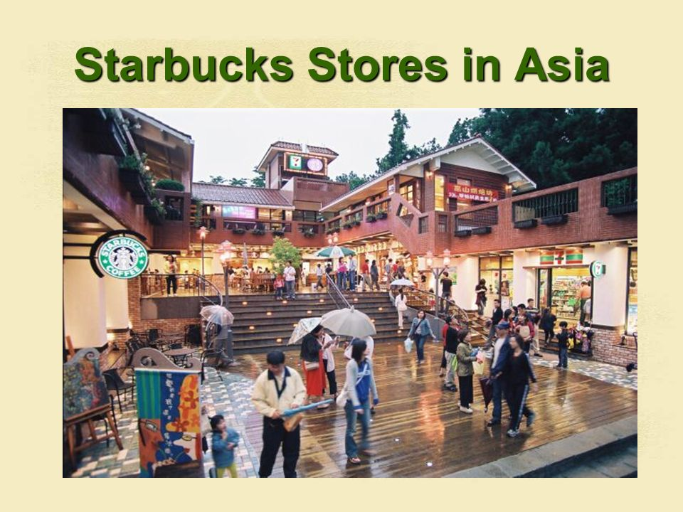 Starbucks Stores in Asia