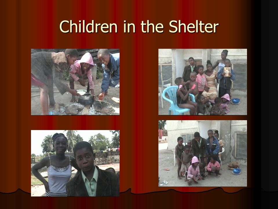 Children in the Shelter