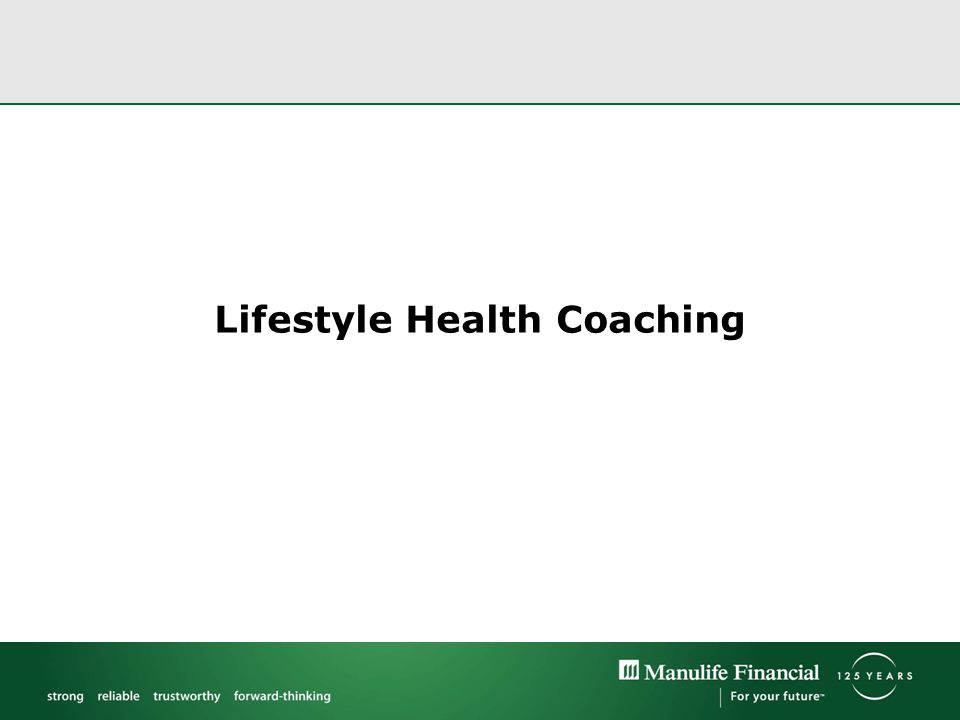Lifestyle Health Coaching
