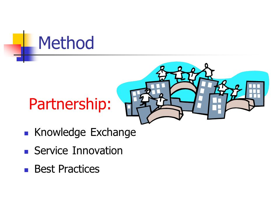 Method Partnership: Knowledge Exchange Service Innovation Best Practices